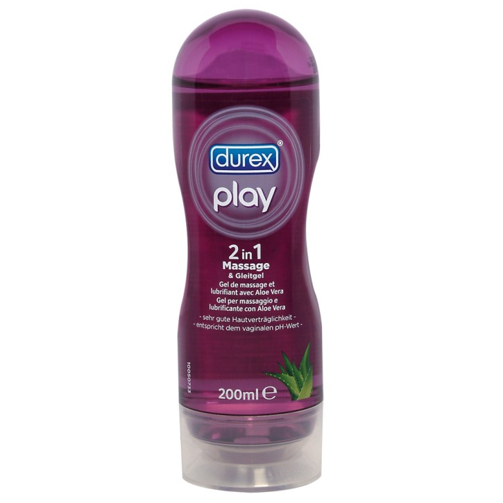 Durex Play Massage-Gel Aloe Vera 200 ml
