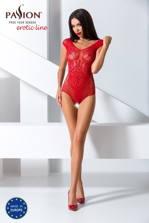 roter ouvert Body BS064 von Passion Erotic Line