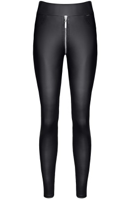 schwarze Leggings BRMaddalena001 von Demoniq Black Rose 2.0 Collection
