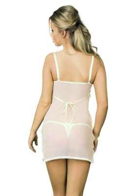 ecru Negligee D-308 von Excellent Beauty